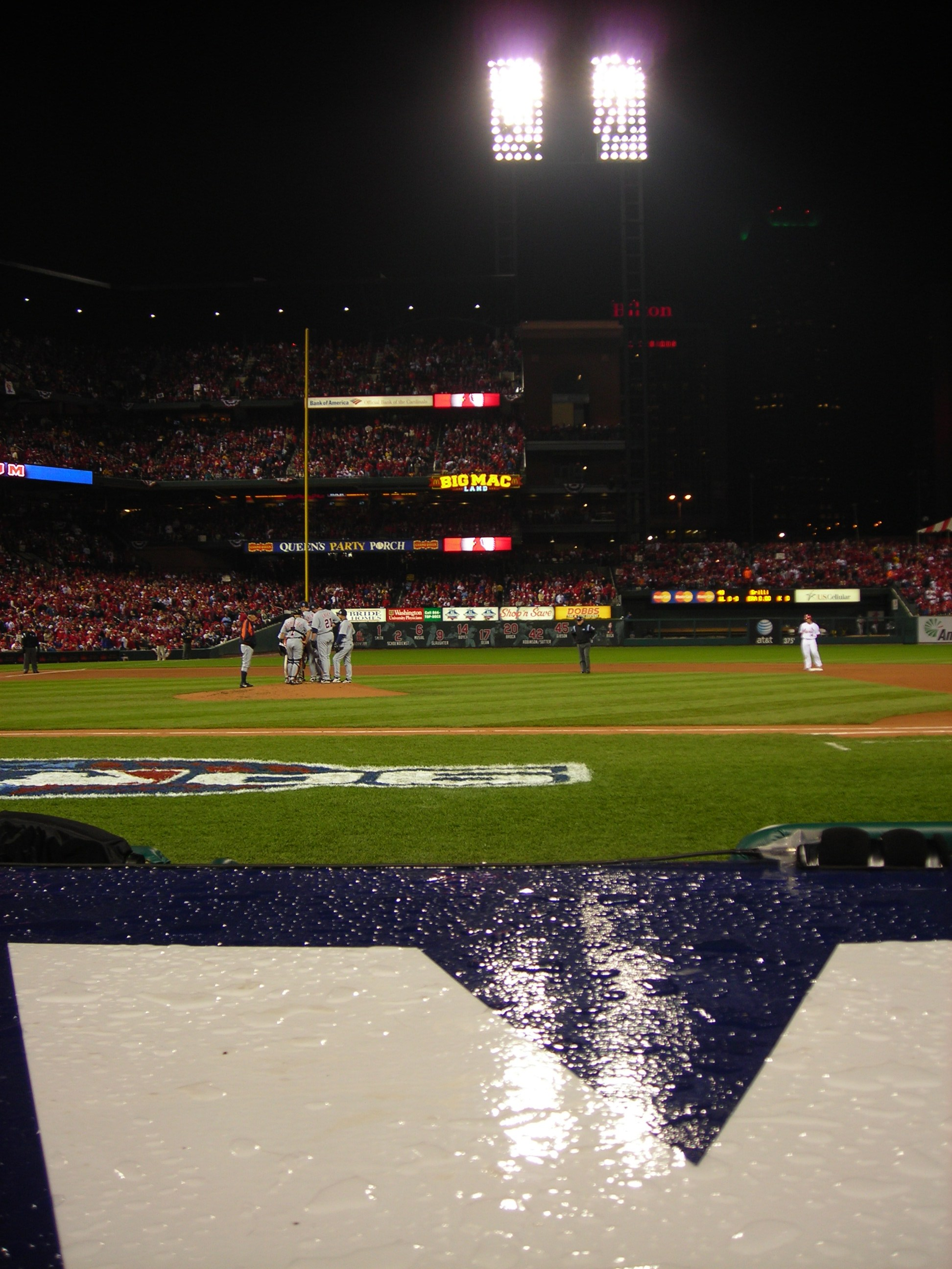 Game 4 Was Rained Out